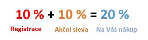 AKCE 10 %