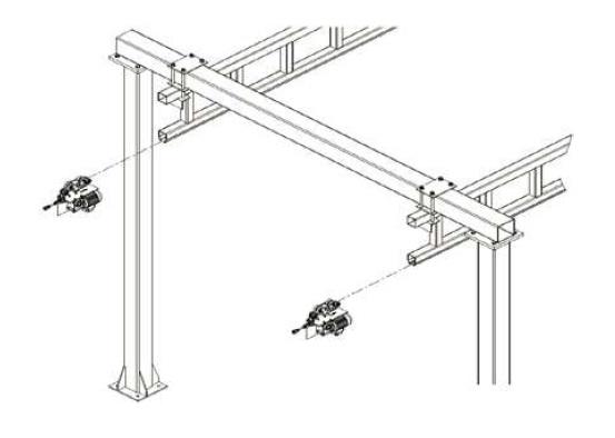 Montáž elektricky poháněných vozíků H110
