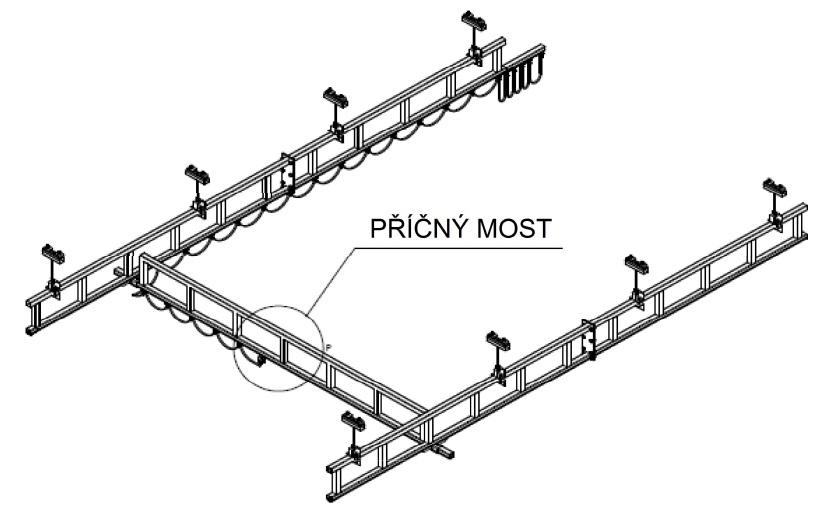 Příčný most jeřábové dráhy NIKO