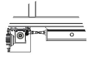 Propojení elektricky poháněného vozíku s posuvným mostovým vozíkem